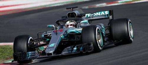 Lewis Hamilton Mercedes W09 Barcelona day 4 F1 2018