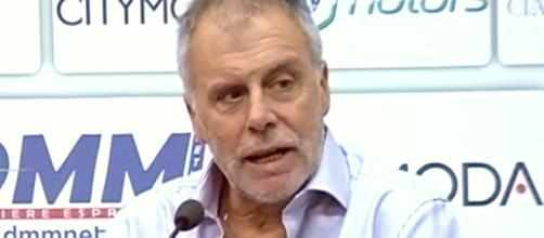 Piero Braglia, tecnico del Cosenza