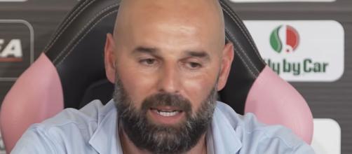 Roberto Stellone, tecnico del Palermo
