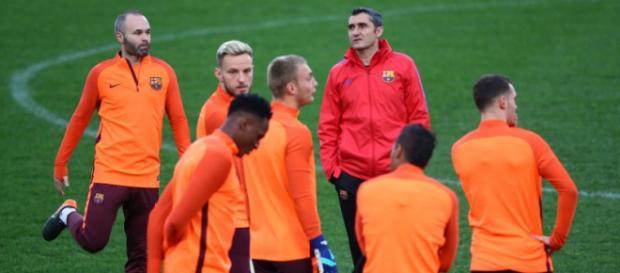 Ernesto Valverde está a viver a primeira temporada no Barcelona