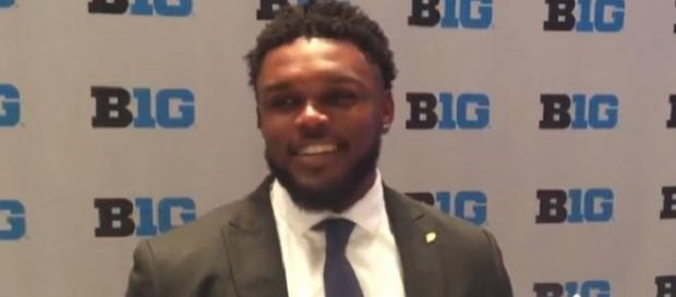 Ja'Whaun Bentley was selected 143rd overall by the Patriots. - [Image Credit: Deep Dish Sports / YouTube screencap]