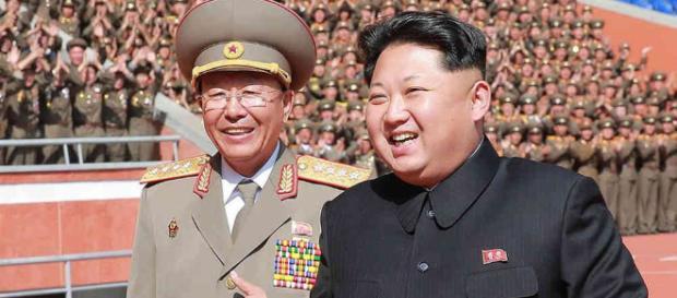 Kim Jong-un, y el presidente surcoreano, Moon Jae-in