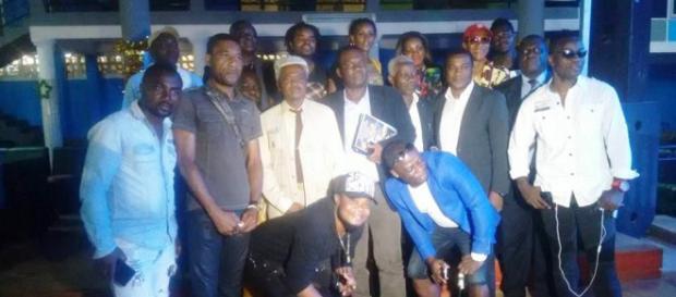 Le Collectif d'artistes camerounais retenus pour le concert du 30 Juin 2018 (c) Odile Pahai