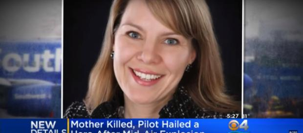 There was one fatality aboard after a woman was partially sucked out of an aircraft window. - [Image source: CNN / YouTube screencap]