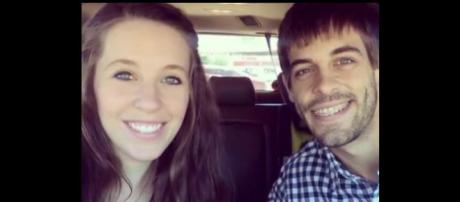 Duggar daughter Jill Duggar Dillard and husband Derick Dillard. - [Channel News / YouTube screencap]