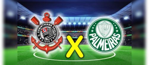 Acompanhe todos os lances de Corinthians x Palmeiras ao vivo
