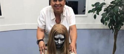 Atriz Gell e a 'Menina Fantasma'