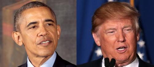 Barack Obama, Donald Trump, via Twitter