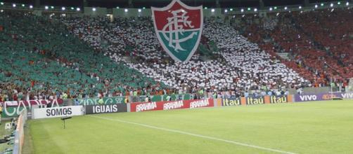 Jornalista da Sportv, Gustavo Villani pede maior apoio da torcida do Fluminense (Foto: Reprodução/Lancepress)