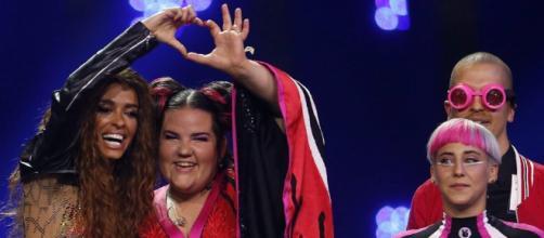 La campeona y la subcampeona de Eurovisión 2018