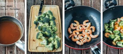 Langostinos con brócoli en salsa agridulce. Receta | Directo Al ... - bloglovin.com