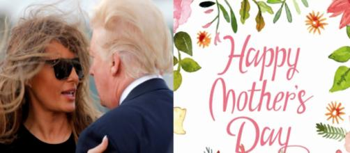Melania, Donald Trump, Mother's Day, via Twitter