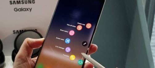 Samsung Galaxy Note 9: cámara dual y pantalla infinita