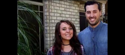 TLC's reality stars Jinger Duggar Vuolo and her husband, Jeremy Vuolo. - [Image from Channel News / YouTube screencap]
