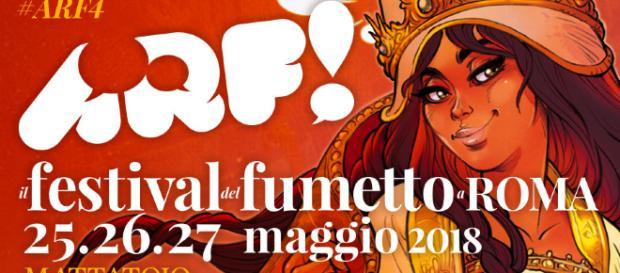 La locandina di ARF! 4 disegnata da Alessandro Barbucci