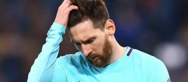 Leo Messi não gostou do que viu