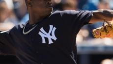 El as de los Yankees Luis Severino solo permite una carrera en seis entradas