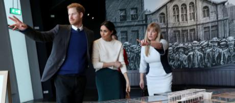 Prince Harry and Ms Markle visit Titanic Belfast (Image credit: Northern Ireland Office/Wikimedia Commons)