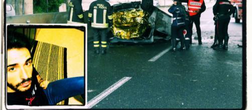 Alessandro Ortu è morto carbonizzato all'interno della sua auto.