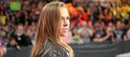 Ronda Rousey even in her UFC career, draws so much attention. image credit - 24wrestling.com
