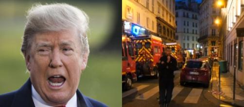 Donald Trump, Paris attack, via Twitter