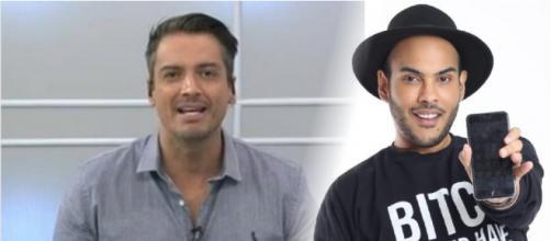Leo Dias revela tudo sobre conta de Hugo Gloss desativada no Instagram