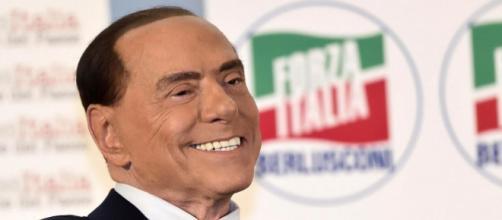L'indiscusso lader di Forza Italia Silvio Berlusconi - da mirror.co.uk