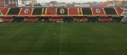 Lo stadio Pino Zaccheria, impianto del Foggia Calcio
