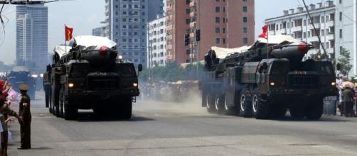 North Korea's ballistic missile (Image credit – Stefan Krasowski, Wikimedia Commons)
