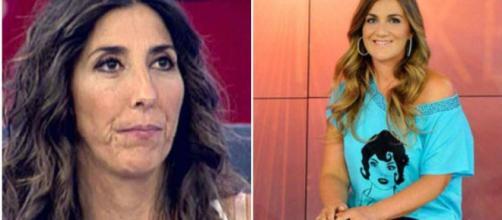 Sálvame: Paz Padilla vs Carlota Corredera.