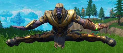 Thanos bailarín de Fortnite se hace presente en el MCU - latercera.com
