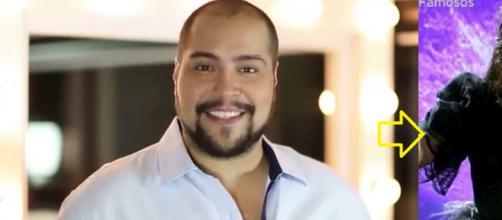 Tiago Abravanel vira a 'Rainha das Trevas' no 'Show dos Famosos'