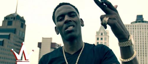 Young Dolph helped out two fired workers. - [Image via World Star Hip Hop / YouTube screencap]