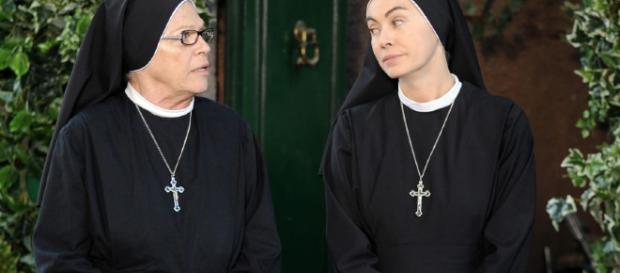 L'attrice Elena Sofia Ricci protagonista del film Loro 2 di Sorrentino