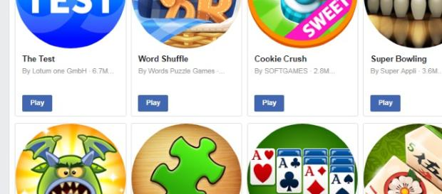 Facebook applications screencap. - [Image via Ryan DeVault]