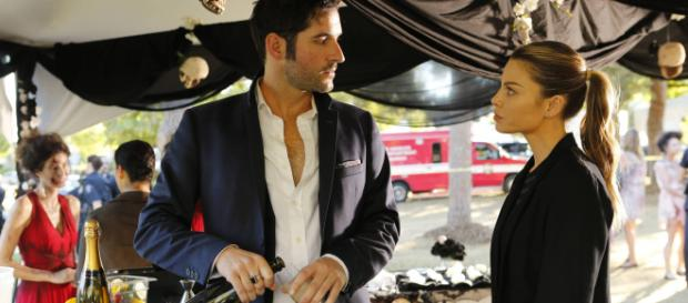 Lucifer 2x06 Lucifer and Chloe via lucifer.wikia.com