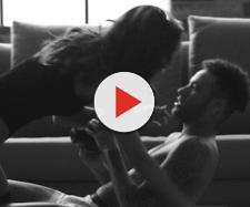Neymar e Bruna Marquezine em cenas quentes