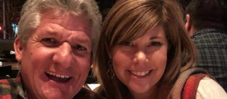Matt Roloff poses with girlfriend Caryn Chandler / Photo via Matt Roloff, Instagram