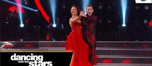 Adam Rippon is going to the finals with two other couples [Image: Dancing with the Stars/YouTube screenshot]