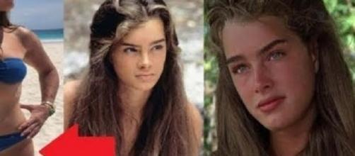 """Atriz Brooke Shields fez sucesso no filme """"A Lagoa Azul""""."""
