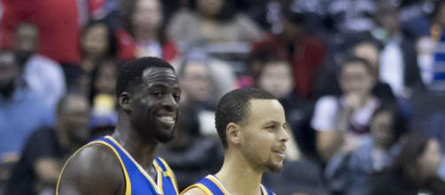 Draymond Green, Steph Curry- Image credit - Keith Allison | Flickr