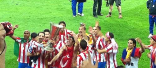 El Atletico de Madrid ya fue campeón de la Europa League en el 2010 y 2012