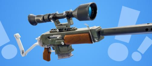 Fortnite Añadiendo Rifle de asalto estallado esta semana