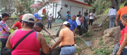 Funcionarios de Alcaldía de Guanta realizaron trabajo voluntario ... - leanoticias.com
