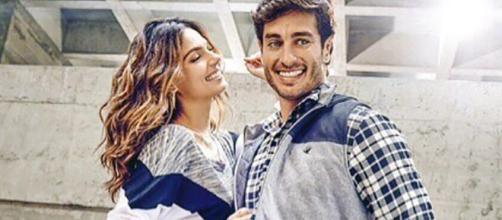 Isis Valverde e o marido André Resende