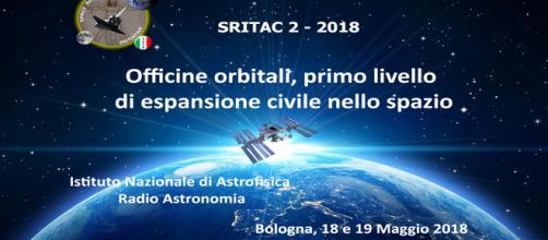 Locandina poster del 2°Congresso di Space Renaissance Italia - Fonte: sito ufficiale.