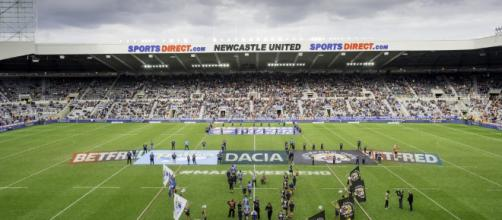 Newcastle's St James' Park has become a superb host for the Magic Weekend. Image Source - therhinos.co.uk