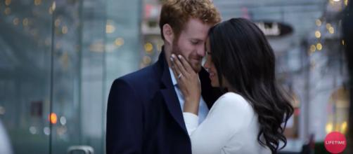 Meghan Markle is depicted in a bad way in 'A Royal Romance.' [image source: Lifetime - YouTube]