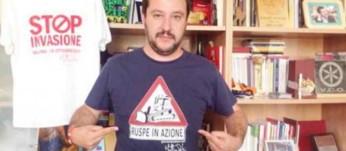 Salvini sfida l'Europa sui migranti