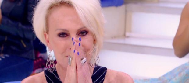 Ana Maria Braga comete nova gafe ao vivo.